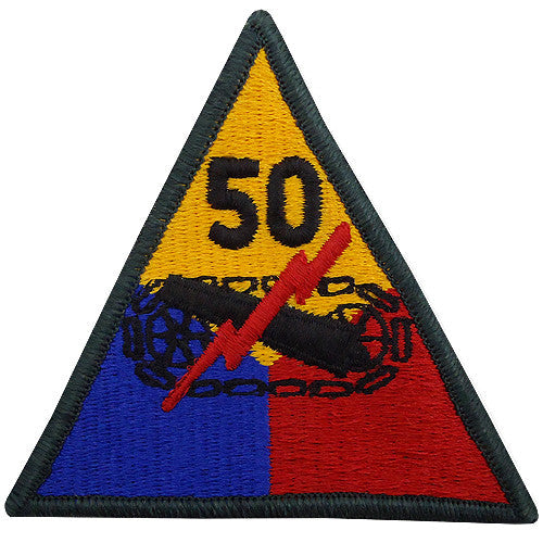 50th Armored Division Class A Patch