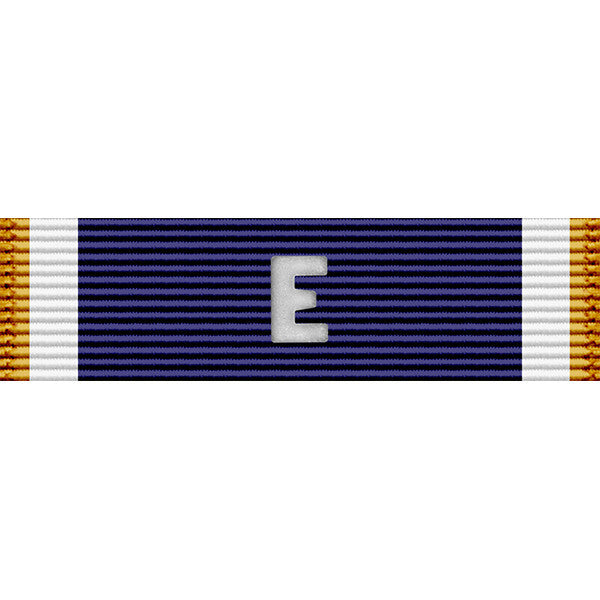 Navy E Thin Ribbon