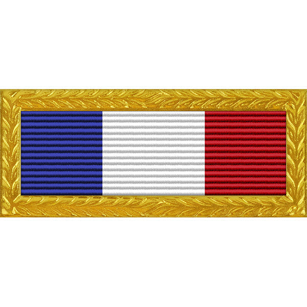 Philippine Presidential Unit Citation - Thin Ribbon with Army Frame