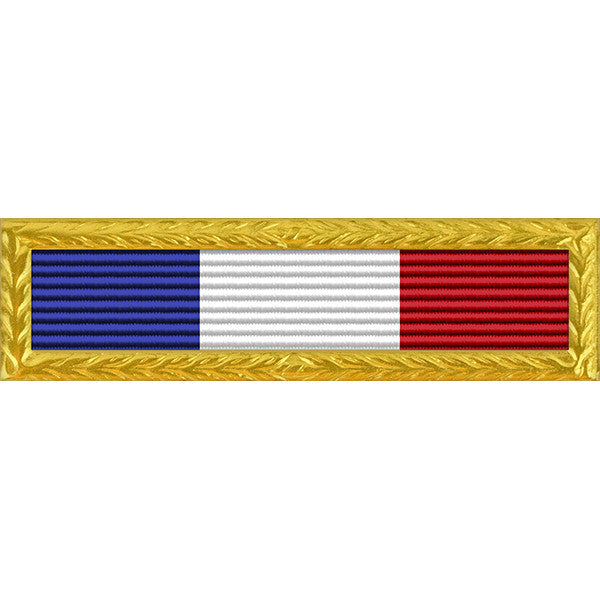 Philippine Presidential Unit Citation - Thin Ribbon with Navy Frame