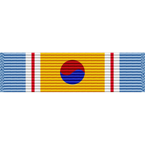 Republic of Korea War Service Medal Ribbon