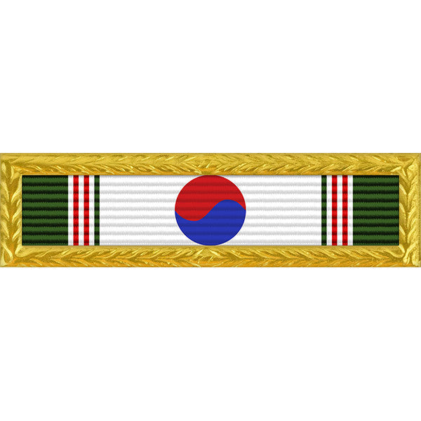 Republic of Korea Presidential Unit Citation - Thin Ribbon with Navy Frame