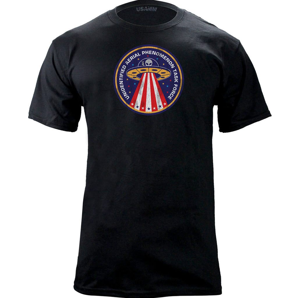Unidentified Aerial Phonomenon Task Force Graphic T-Shirt