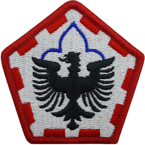 555th Engineer Group Class A Patch