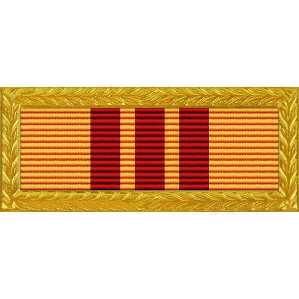 Republic of Vietnam (RVN) Presidential Unit Citation - Thin Ribbon - Army Frame