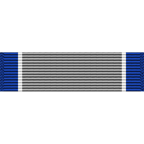 Silver Lifesaving Medal Ribbon