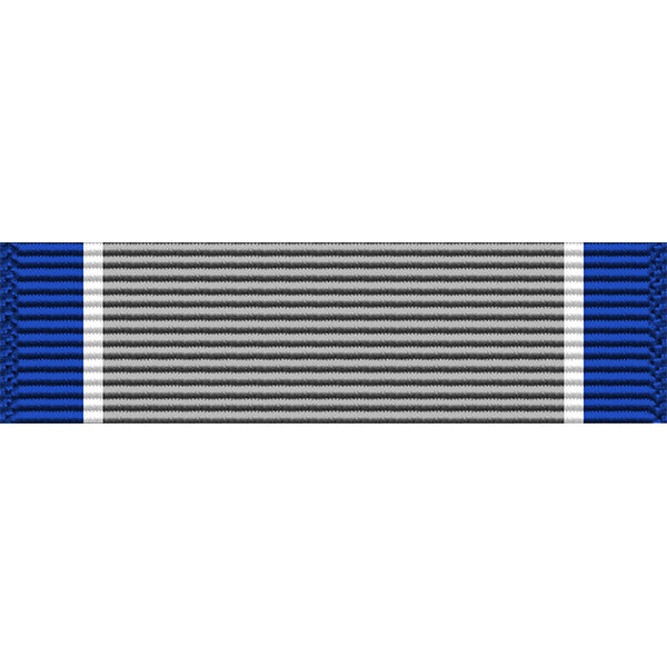 Silver Lifesaving Medal Thin Ribbon