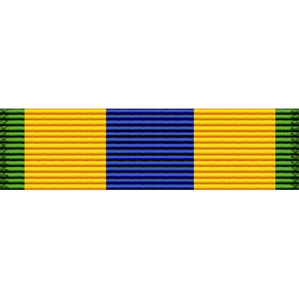 Mexican Service Medal Thin Ribbon - Navy