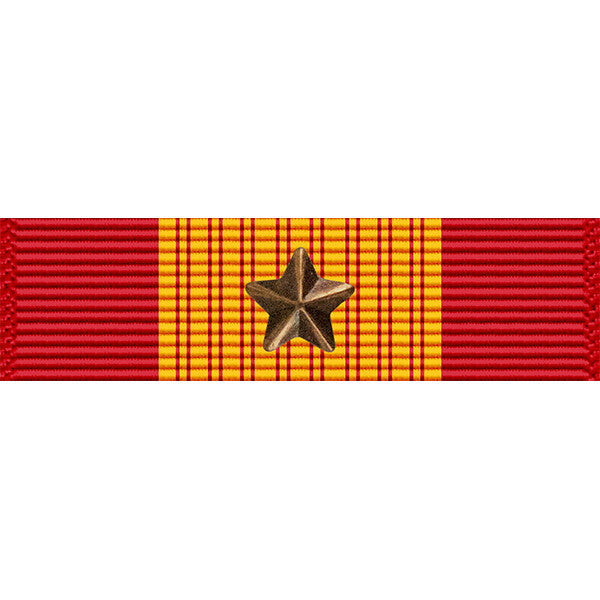 Republic of Vietnam (RVN) Gallantry Cross Medal w/ Bronze Star Thin Ribbon