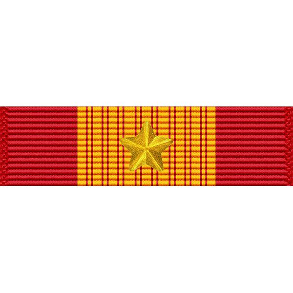 Republic of Vietnam (RVN) Gallantry Cross Medal w/ Gold Star Tiny Ribbon