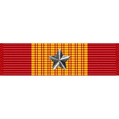 Republic of Vietnam Gallantry Cross Medal w/ Silver Star Ribbon