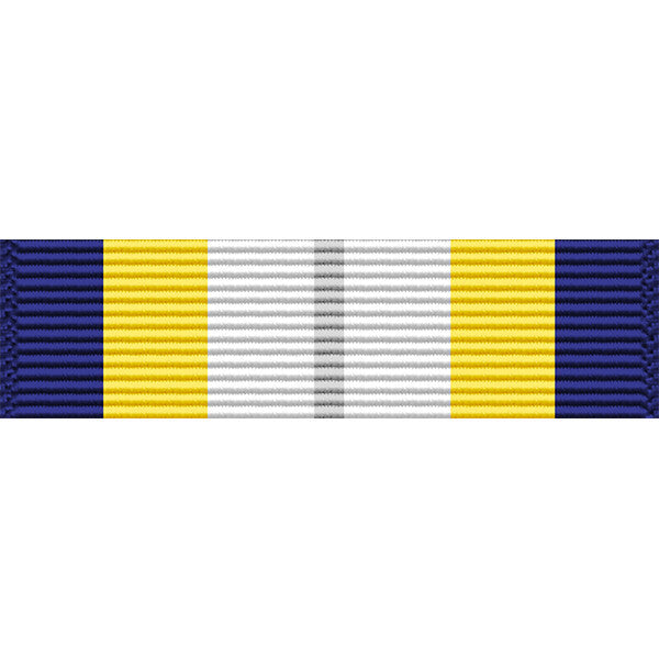 Navy Ceremonial Guard Thin Ribbon