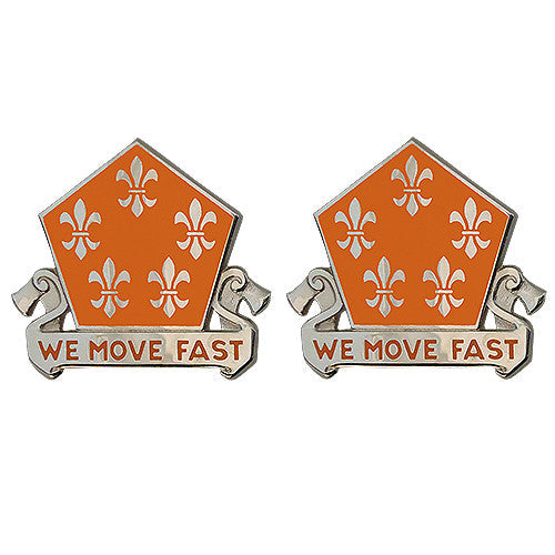 5th Signal Brigade Unit Crest (We Move Fast)