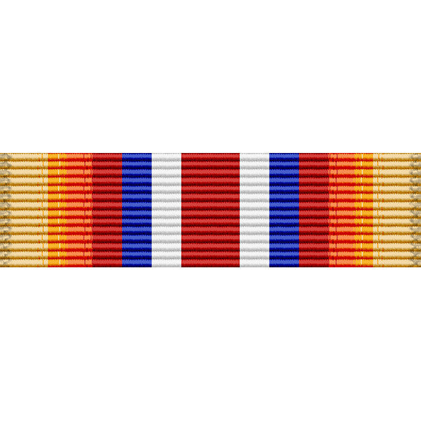 Merchant Marine Pacific War Zone Medal Ribbon