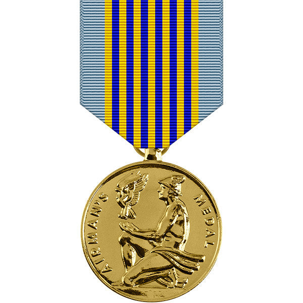 Airmans Medal for Heroism - Anodized