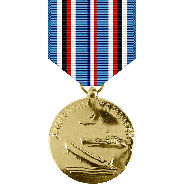 American Campaign Anodized Medal - WW II