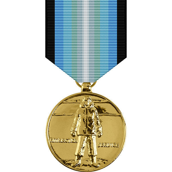 Antarctica Service Anodized Medal