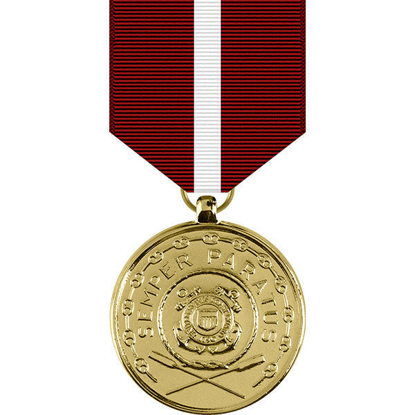 Coast Guard Good Conduct Anodized Medal