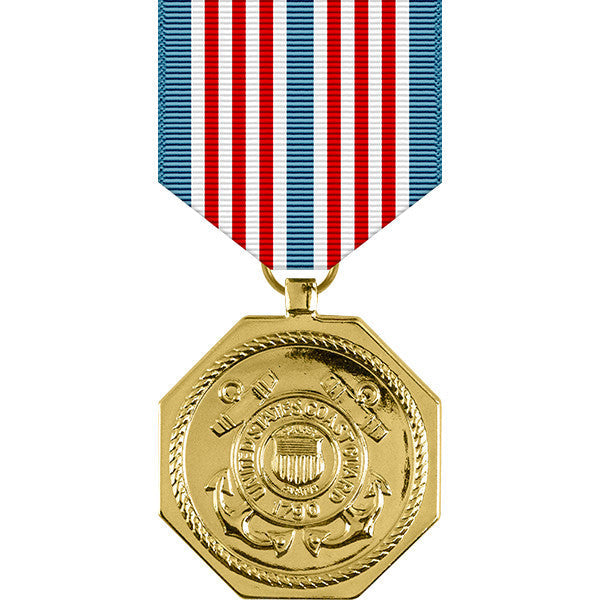 Coast Guard Anodized Medal for Heroism