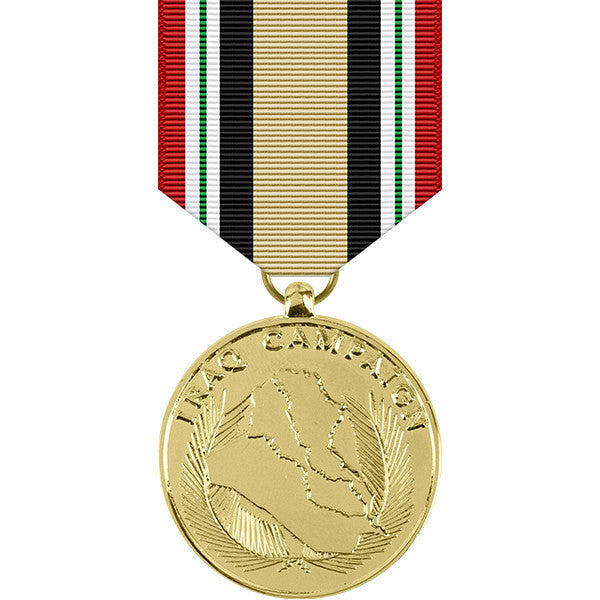 Iraq Campaign Anodized Medal