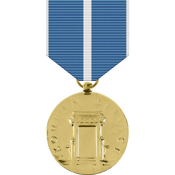 Korean Service Anodized Medal