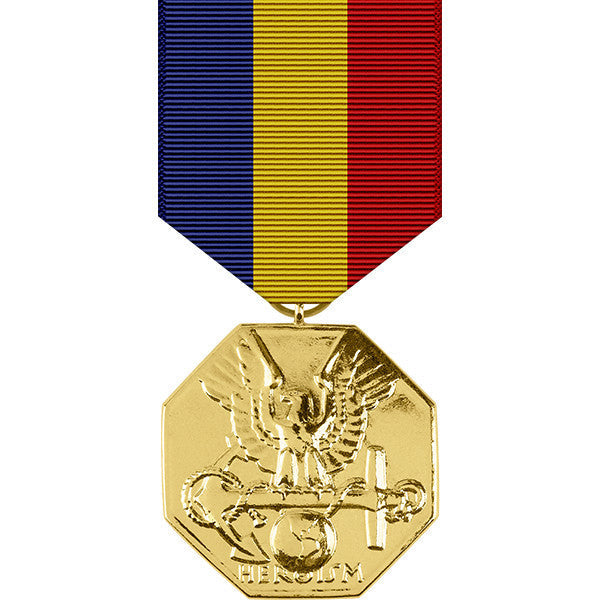 Navy & Marine Corps Anodized Medal