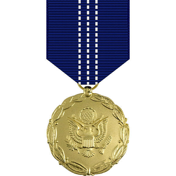 Army Exceptional Civilian Service Award Anodized Medal