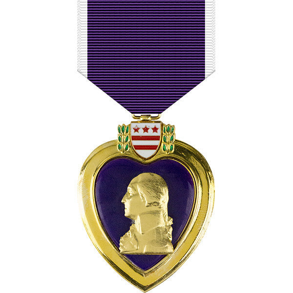Purple Heart Anodized Medal Usamm