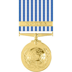 United Nations Korean Service Anodized Medal