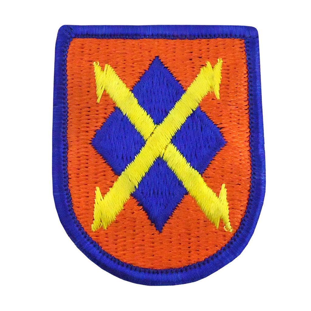 35th Signal Brigade Beret Flash