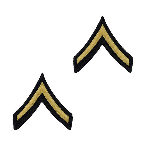 Army Dress Blue (Gold on Blue) Enlisted Rank - Female Size