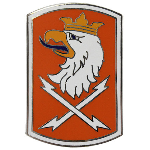 22nd Signal Brigade Combat Service Identification Badge