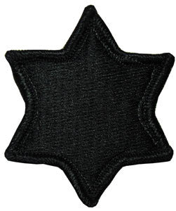 6th Infantry Division ACU Patch