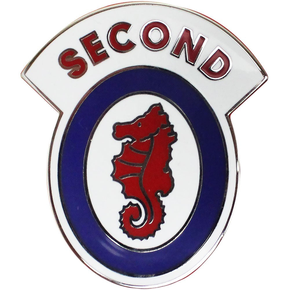 2nd Engineer Brigade Combat Service Identification Badge