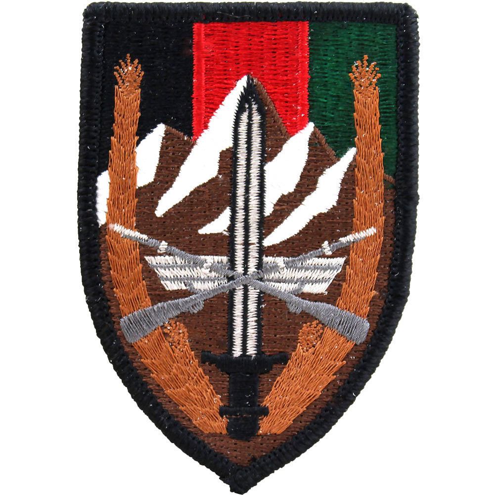 U S  Forces Afghanistan Class A Patch