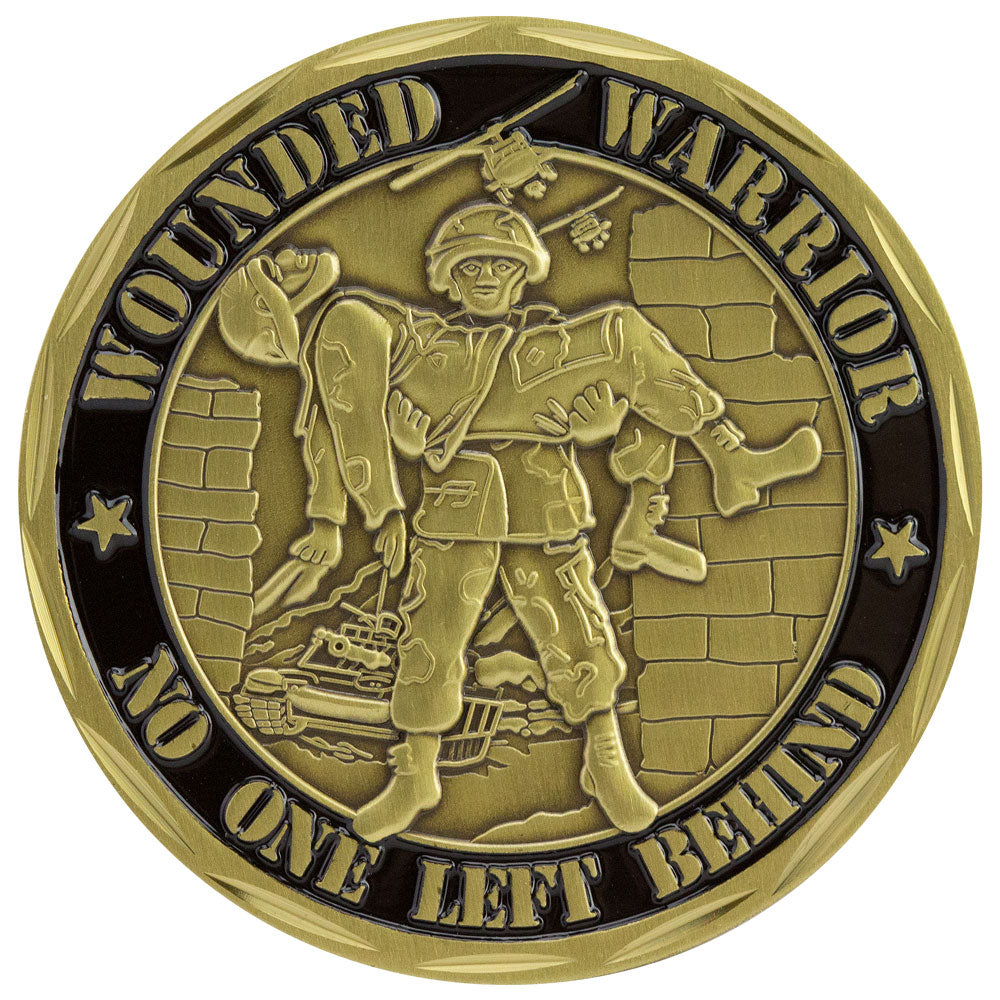 Wounded Warrior - Proudly Served Coin