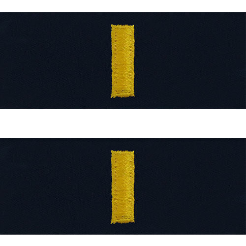 Coast Guard Embroidered Collar Insignia Rank Usamm