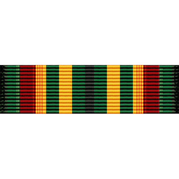 Indiana National Guard Long Service Medal Ribbon