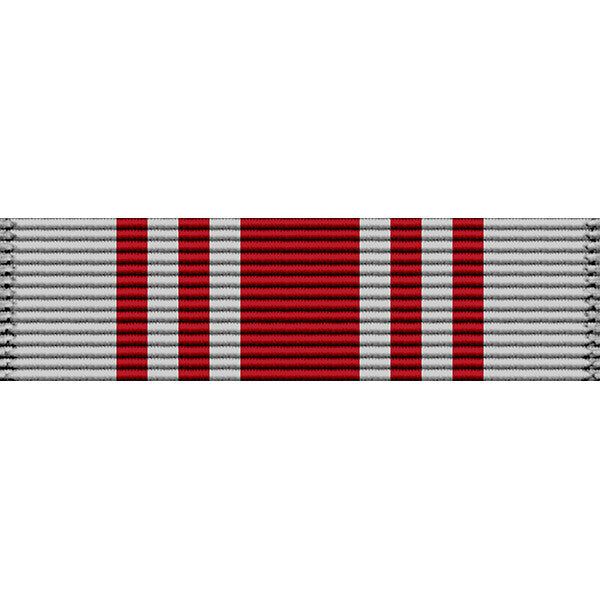 Mississippi National Guard Commendation Medal Thin Ribbon