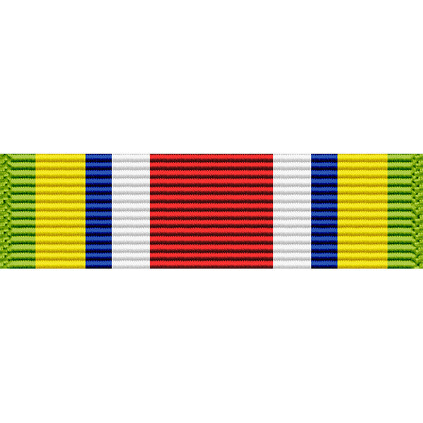 Tennessee National Guard War Service Thin Ribbon