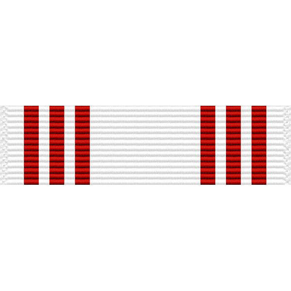 Illinois National Guard Military Attendance Thin Ribbon