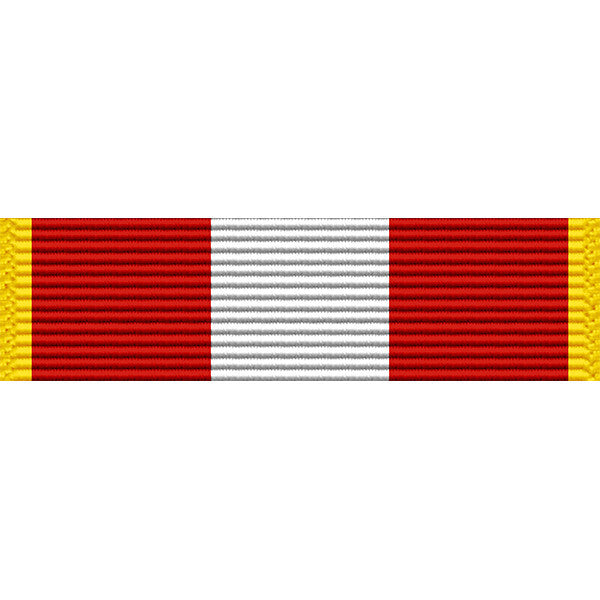 North Dakota National Guard Basic Training Thin Ribbon