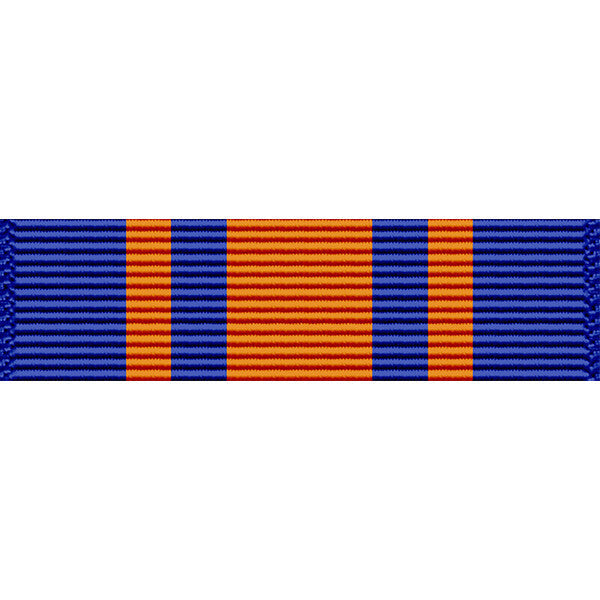 California National Guard Service Medal Thin Ribbon