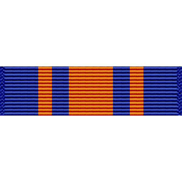 Iowa National Guard Leadership Thin Ribbon (without Torch Device)