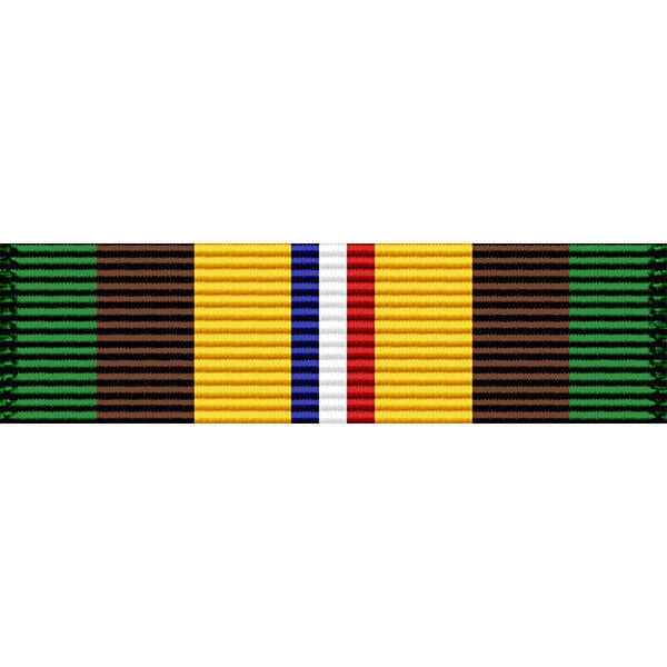 Indiana National Guard OCONUS Service Ribbon