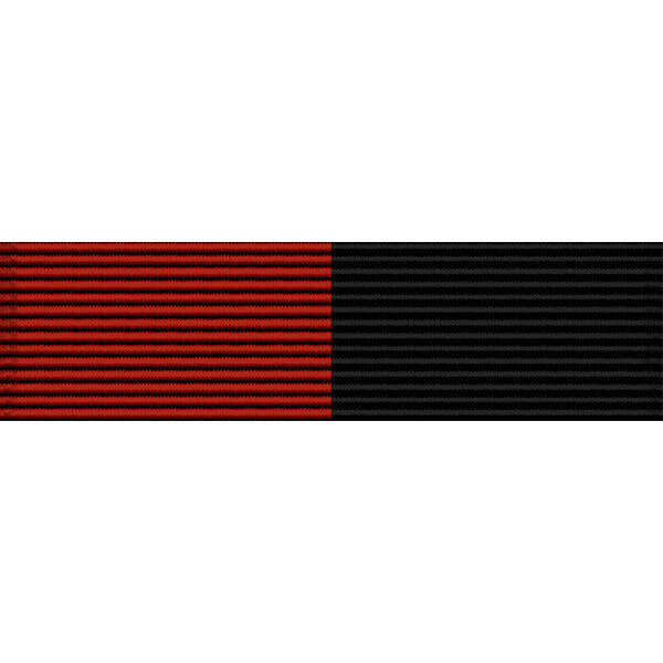 West Virginia National Guard Service Thin Ribbon