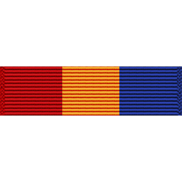 Texas National Guard Faithful Service Medal Ribbon