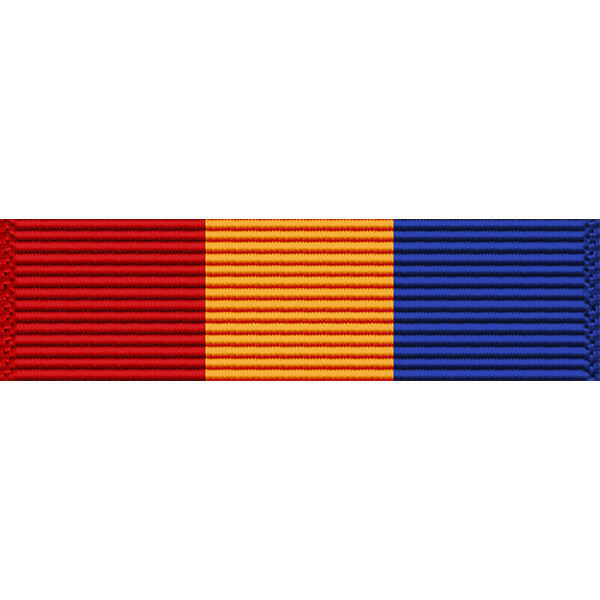 Texas National Guard Faithful Service Medal Thin Ribbon