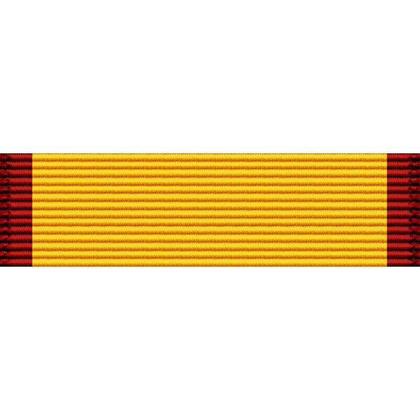 Louisiana National Guard Emergency Service Thin Ribbon