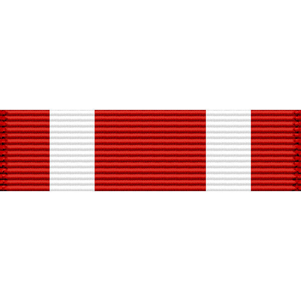 Oklahoma National Guard Star of Valor Medal Thin Ribbon